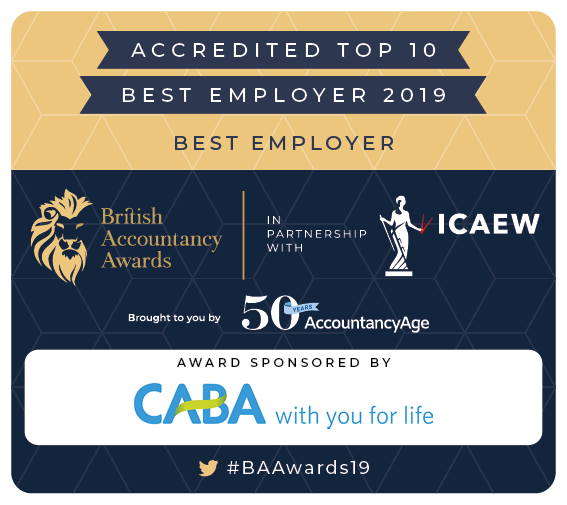 BAA 2019 Shortlist Badge Best Employer